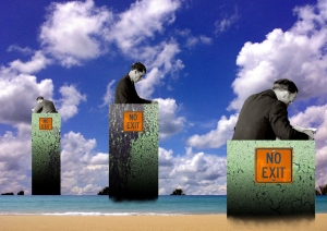 NO-EXIT, © Ubé (http://jmube.com)