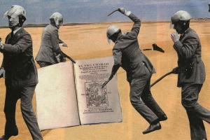 Quijote apaleado, © Ubé, (http://jmube.com)