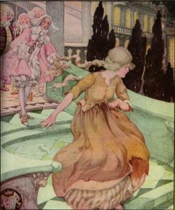 Cenicienta, ilustración de Anne Anderson