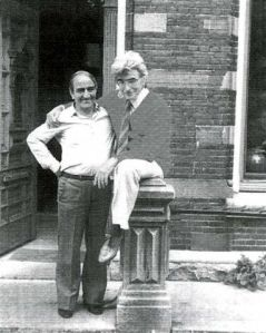 Francisco Carrasque y José Martínez, en París- 1980