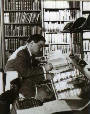 Francisco Carrasquer en la Universidad de Leiden