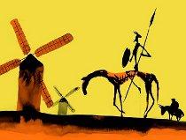 Don Quijote de la Mancha, ilustración