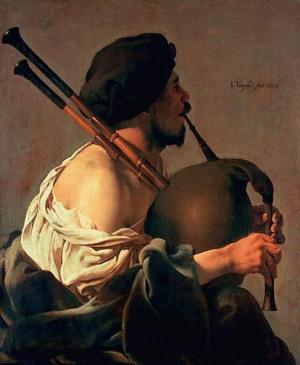 El gaitero, Hendrik ter Brugghen (1624)