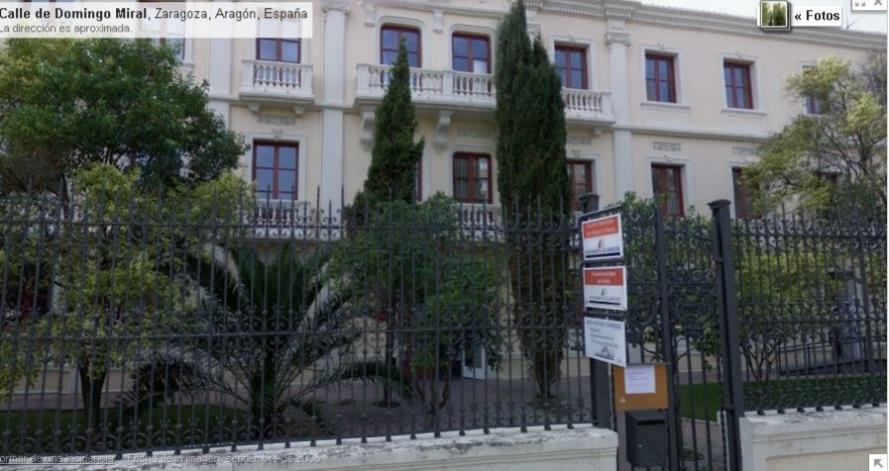 Edificio de la Escuela Municipal De Teatro De Zaragoza
