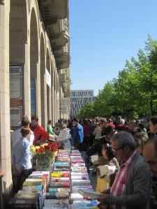Día del Libro, en el Paseo de la Independencia, Zaragoza