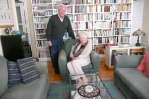 Paco Uriz  y Marina Torres (foto de Antón Castro)