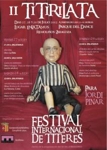 Titirilata, Festival Internacional de Títeres de Remolinos