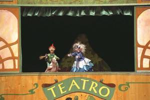Pelegrín, Títeres de la Cachiporra, Teatro Arbolé