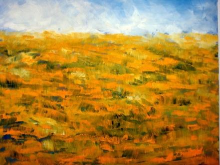 Paisaje, Tierra seca, de Pilar Aguarón