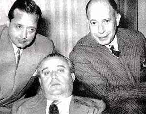 Edgar Neville, López Rubio y Miguel Mihura