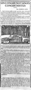 Un congreso y unos congresistas, por Ramón Acín
