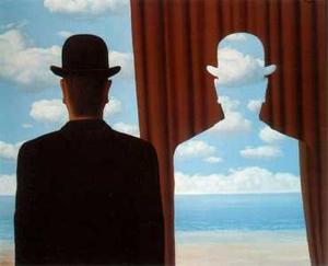 René Magritte. Decalcomanía. 1966