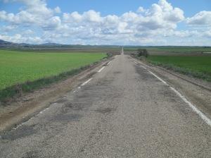 10 Antes de Farlete, fotografía de Samuel Larués (http://paisajesciclistas.blogspot.com.es)