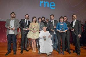 Premiados Ojo Crítico, con Sergio del Molino