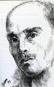 Manuel Pinillos, dibujo de Barbosa