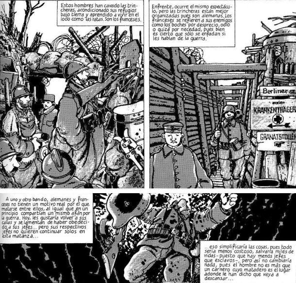 "Jacques Tardi "" La Guerra de las Trincheras 1914-1918"