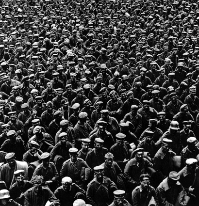 Derrota alemana. 1918
