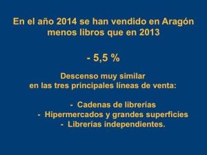 Venta de libros 2014