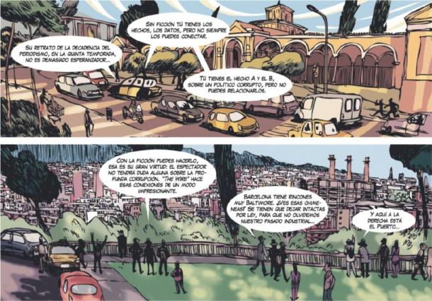 Entrevista a Joe Sacco, por Jorge Carrión y Sagar. Cultura/s, La Vanguardia.