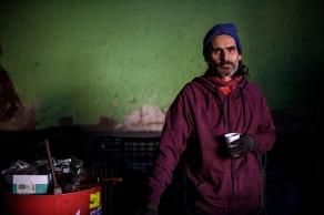 "De hierro (serie ""Retratos"" Chatarrero punki). https://vimeo.com/115282808"