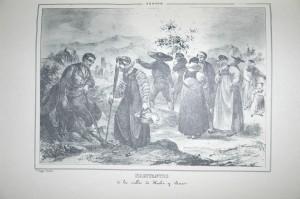 Trajes de los habitantes de los valles de Hecho y Ansó