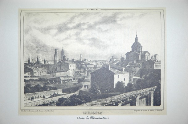 Zaragoza desde la Misericordia