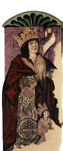 Fernando el Católico y el príncipe Juan (Daroca)