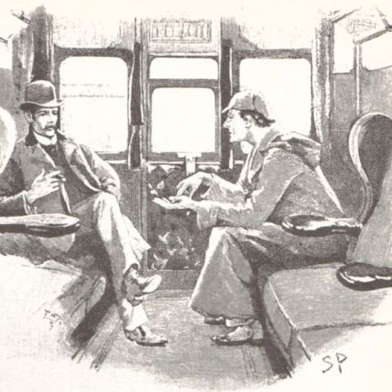 Ilustración de Sidney Paget