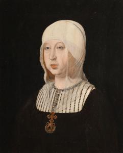 Isabel la Católica, retrato de Juan de Flandes
